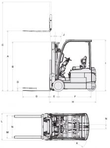 forklift diagram